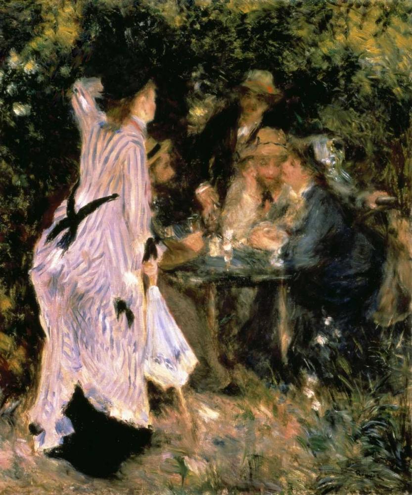 konfigurieren des Kunstdrucks in Wunschgröße Au Jardin Du Moulin von Renoir, Pierre-Auguste