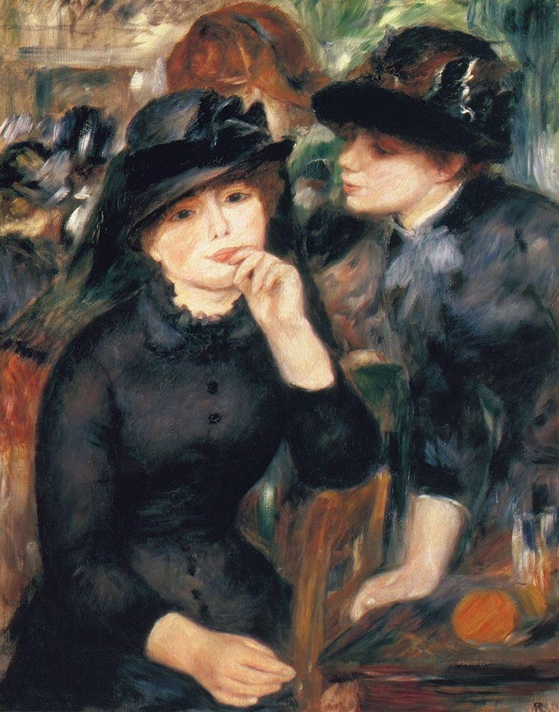 konfigurieren des Kunstdrucks in Wunschgröße Girls In Black von Renoir, Pierre-Auguste