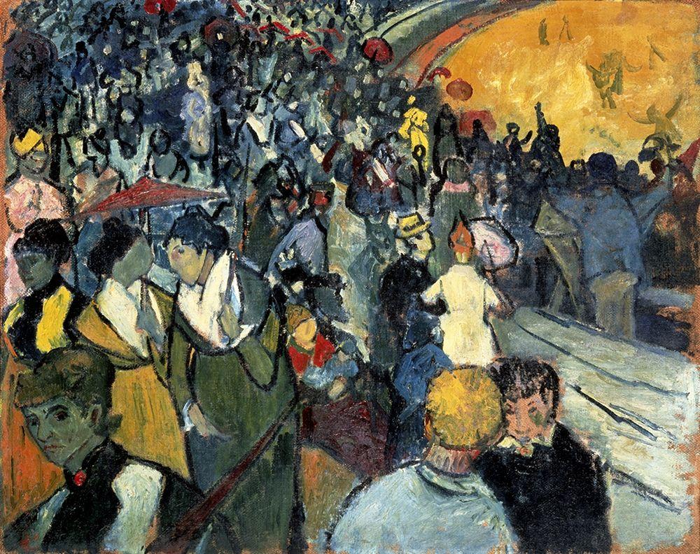 konfigurieren des Kunstdrucks in Wunschgröße The Arena at Arles von Van Gogh, Vincent