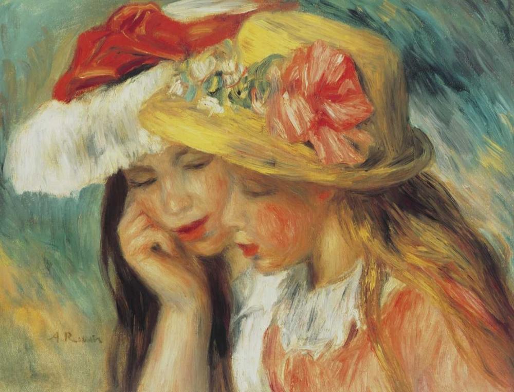 konfigurieren des Kunstdrucks in Wunschgröße Les Deux Soeurs von Renoir, Pierre-Auguste