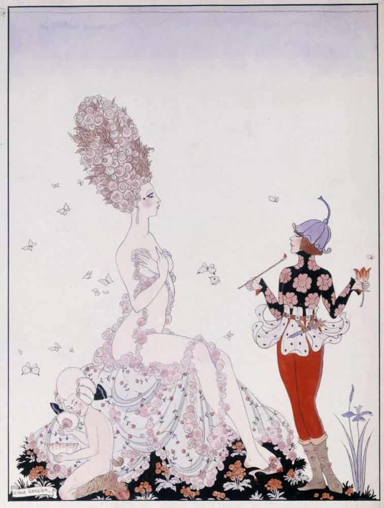 Mother Nature von Barbier, Georges <br> max. 76 x 102cm <br> Preis: ab 10€