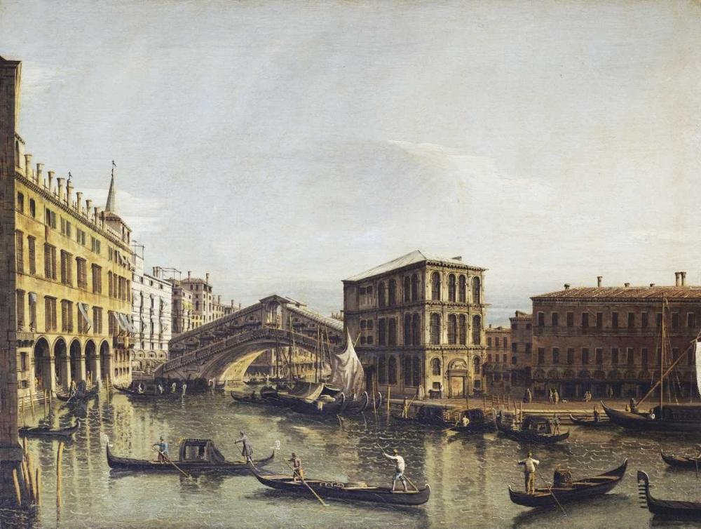 konfigurieren des Kunstdrucks in Wunschgröße The Grand Canal, Venice von Bellotto, Bernardo