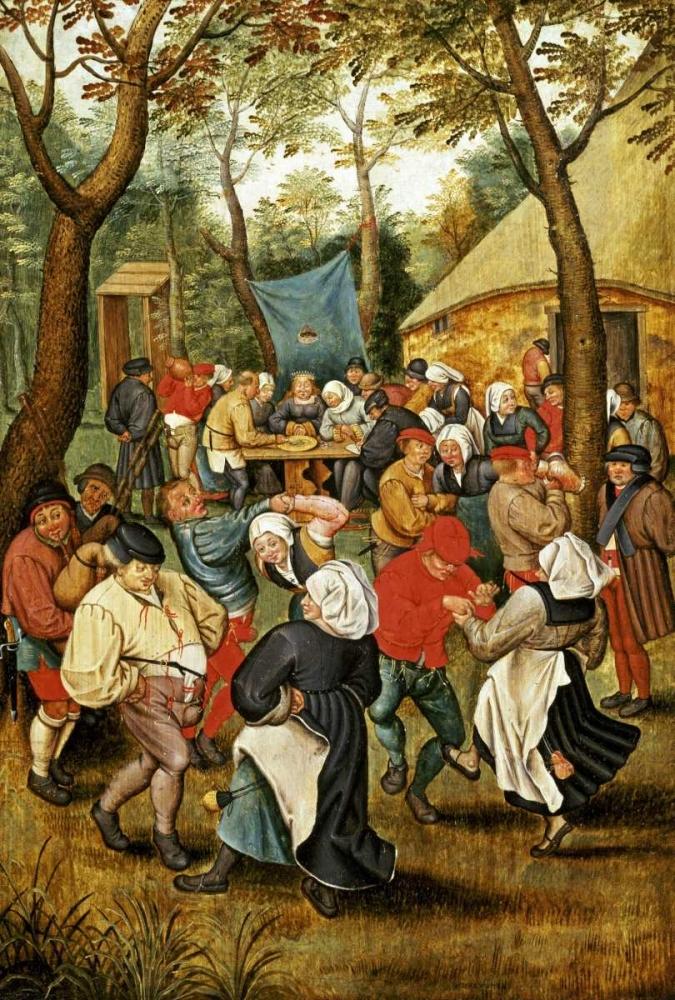 konfigurieren des Kunstdrucks in Wunschgröße The Wedding Feast von Bruegel, Pieter the Elder
