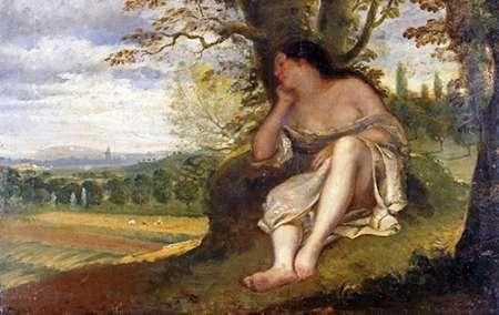 konfigurieren des Kunstdrucks in Wunschgröße The Nap von Courbet, Gustave