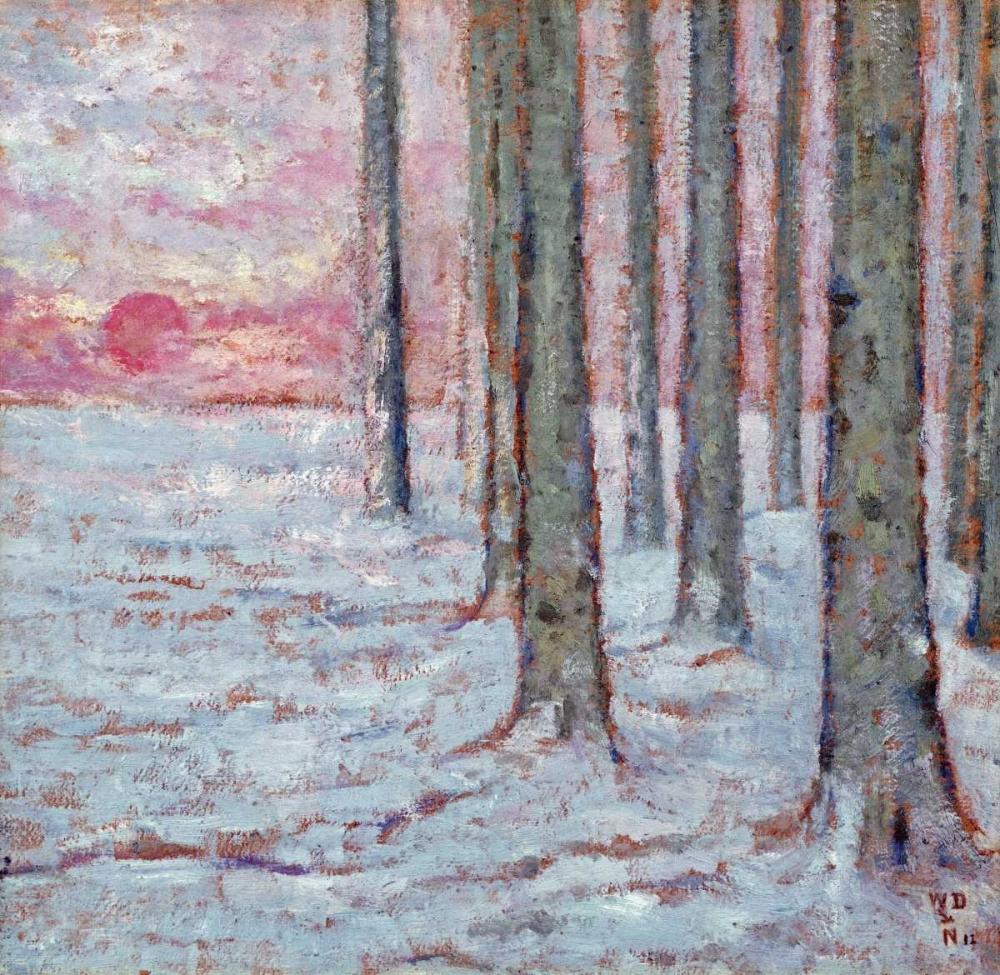konfigurieren des Kunstdrucks in Wunschgröße Winter In The Forest von Einzelbilder