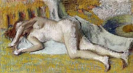After The Bath von Degas, Edgar <br> max. 109 x 58cm <br> Preis: ab 10€