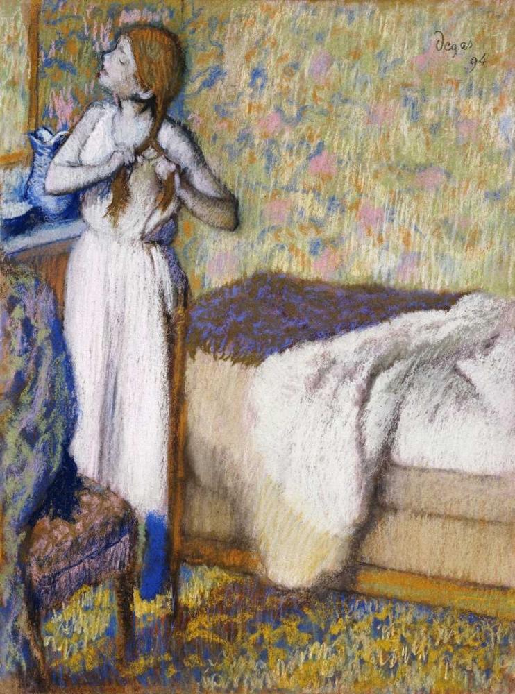 konfigurieren des Kunstdrucks in Wunschgröße Morning Toilet von Degas, Edgar