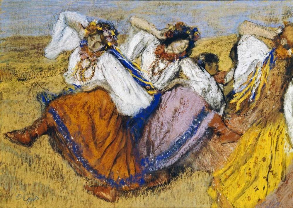 Russian Dancers von Degas, Edgar <br> max. 94 x 66cm <br> Preis: ab 10€