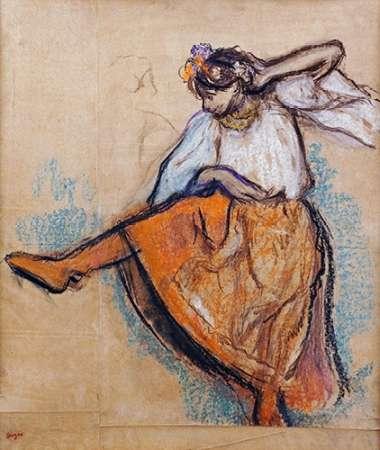 konfigurieren des Kunstdrucks in Wunschgröße The Russian Dancer von Degas, Edgar