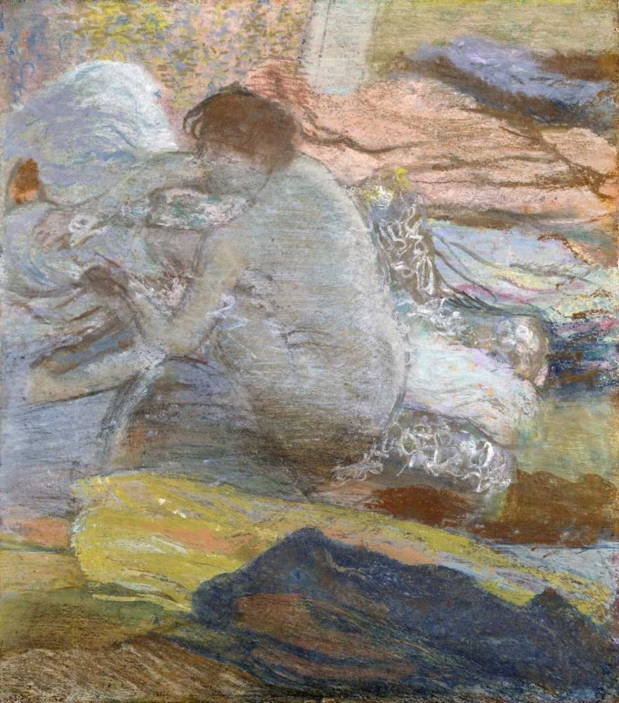 konfigurieren des Kunstdrucks in Wunschgröße Woman Wiping Her Feet von Degas, Edgar