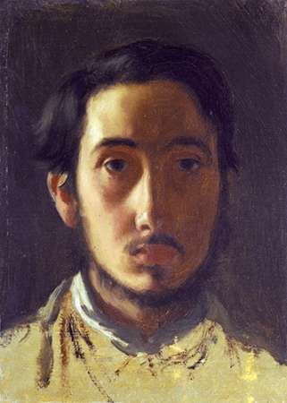 konfigurieren des Kunstdrucks in Wunschgröße Degas Self Portrait von Degas, Edgar