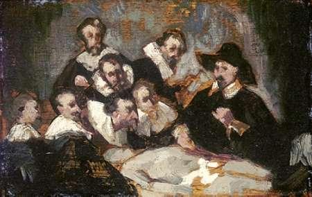 konfigurieren des Kunstdrucks in Wunschgröße The Anatomy Lesson von Manet, Edouard
