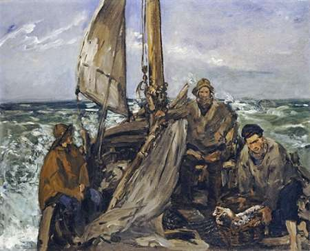 The Workers of the Sea von Manet, Edouard <br> max. 84 x 69cm <br> Preis: ab 10€