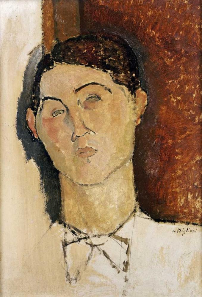 konfigurieren des Kunstdrucks in Wunschgröße Tete De Jeune Homme von Modigliani, Amedeo