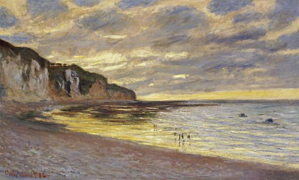 konfigurieren des Kunstdrucks in Wunschgröße Pointe de Lailly, maree basse von Monet, Claude