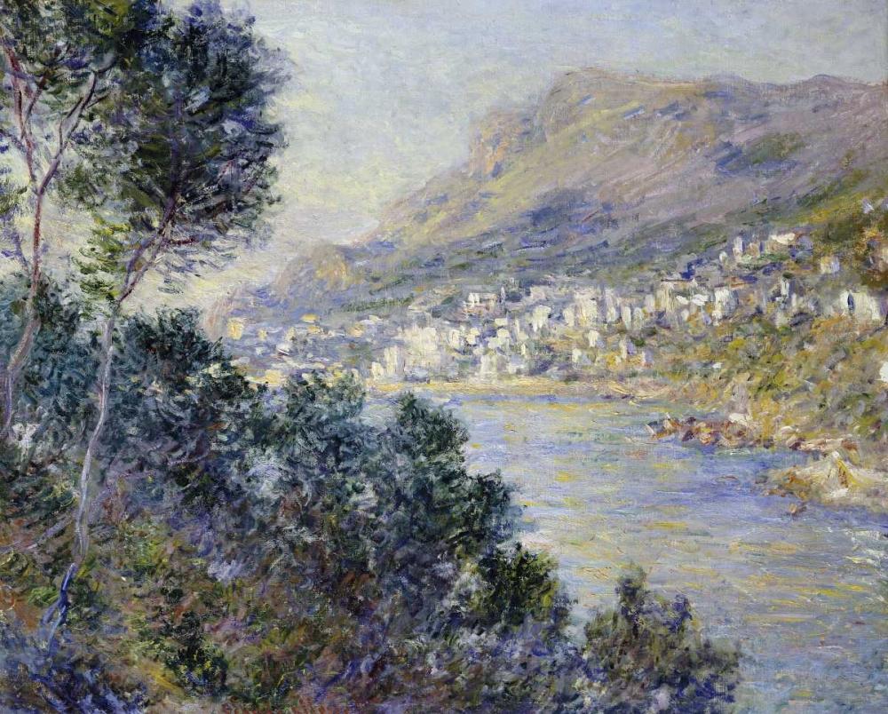 konfigurieren des Kunstdrucks in Wunschgröße A View of Cape Martin, Monte Carlo von Monet, Claude