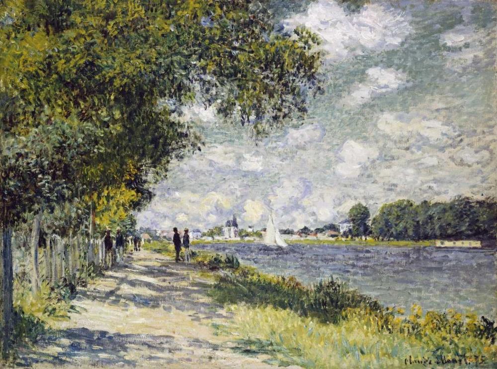 konfigurieren des Kunstdrucks in Wunschgröße The Seine at Argenteuil von Monet, Claude