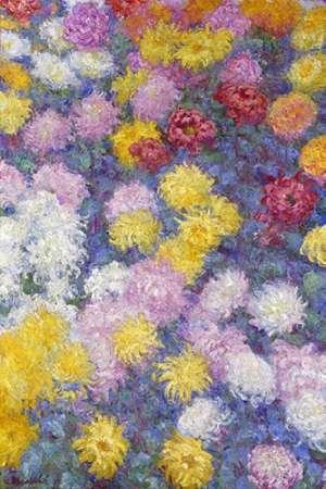 konfigurieren des Kunstdrucks in Wunschgröße Museumysanthemums von Monet, Claude