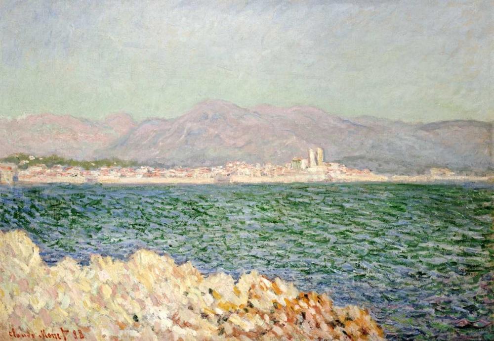konfigurieren des Kunstdrucks in Wunschgröße Golfe dAntibes von Monet, Claude