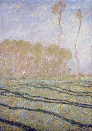 konfigurieren des Kunstdrucks in Wunschgröße Spring Countryside at Giverny von Monet, Claude