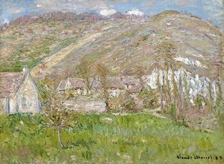 konfigurieren des Kunstdrucks in Wunschgröße The Hamlet of Falaise, near Giverny, 1883 von Monet, Claude