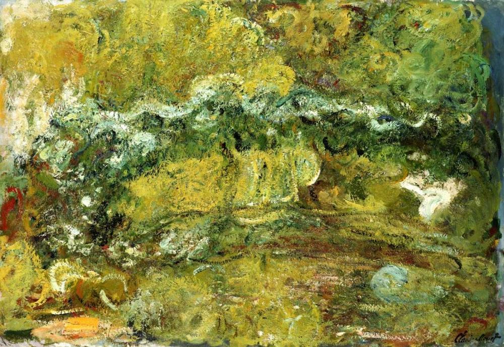 konfigurieren des Kunstdrucks in Wunschgröße The Japanese Bridge von Monet, Claude