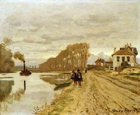 konfigurieren des Kunstdrucks in Wunschgröße Infantrymen of the Flanant Guard on the Water von Monet, Claude