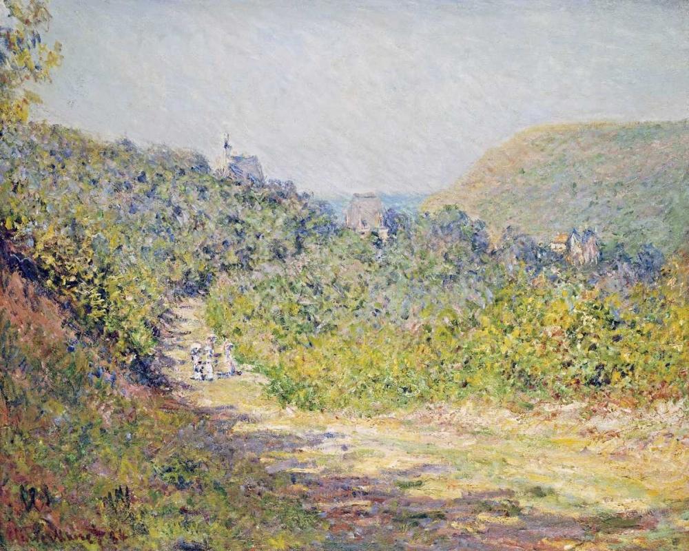 konfigurieren des Kunstdrucks in Wunschgröße Aux Petites-Dalles, 1884 von Monet, Claude