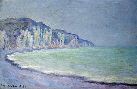 konfigurieren des Kunstdrucks in Wunschgröße Cliffs at Pourville von Monet, Claude