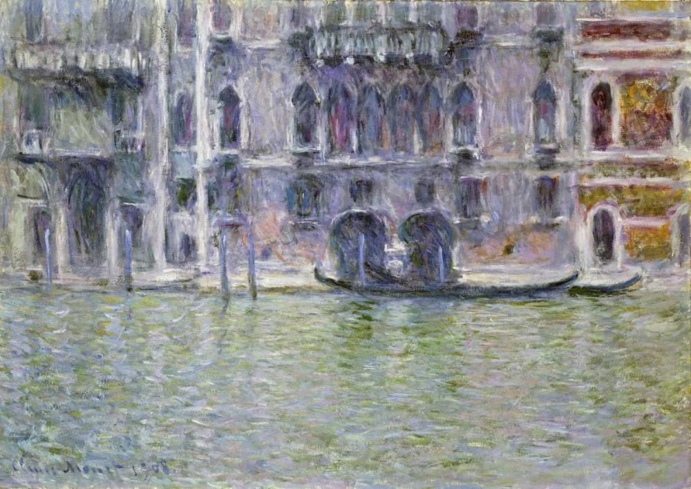 konfigurieren des Kunstdrucks in Wunschgröße Palazzo da Mula, Venice von Monet, Claude