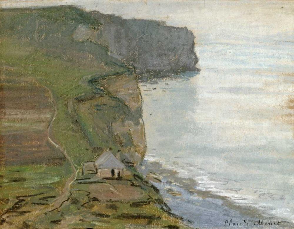 konfigurieren des Kunstdrucks in Wunschgröße Cap dAntifer, Etretat von Monet, Claude