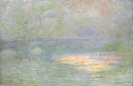 konfigurieren des Kunstdrucks in Wunschgröße Waterloo Bridge, 1902 von Monet, Claude