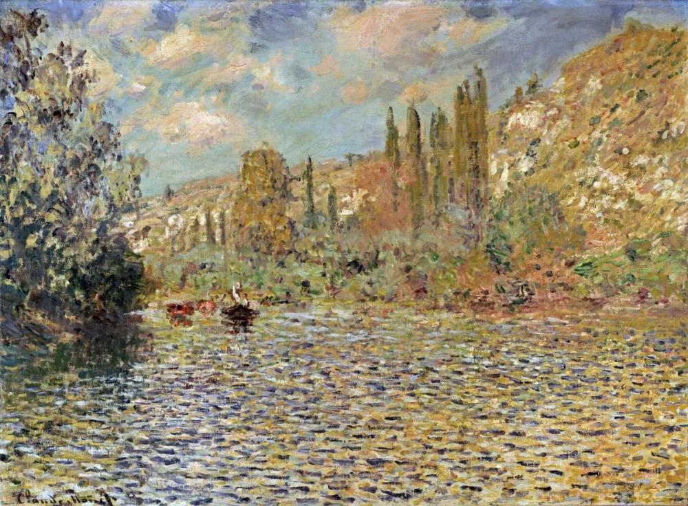 konfigurieren des Kunstdrucks in Wunschgröße The Seine at Vetheuil von Monet, Claude