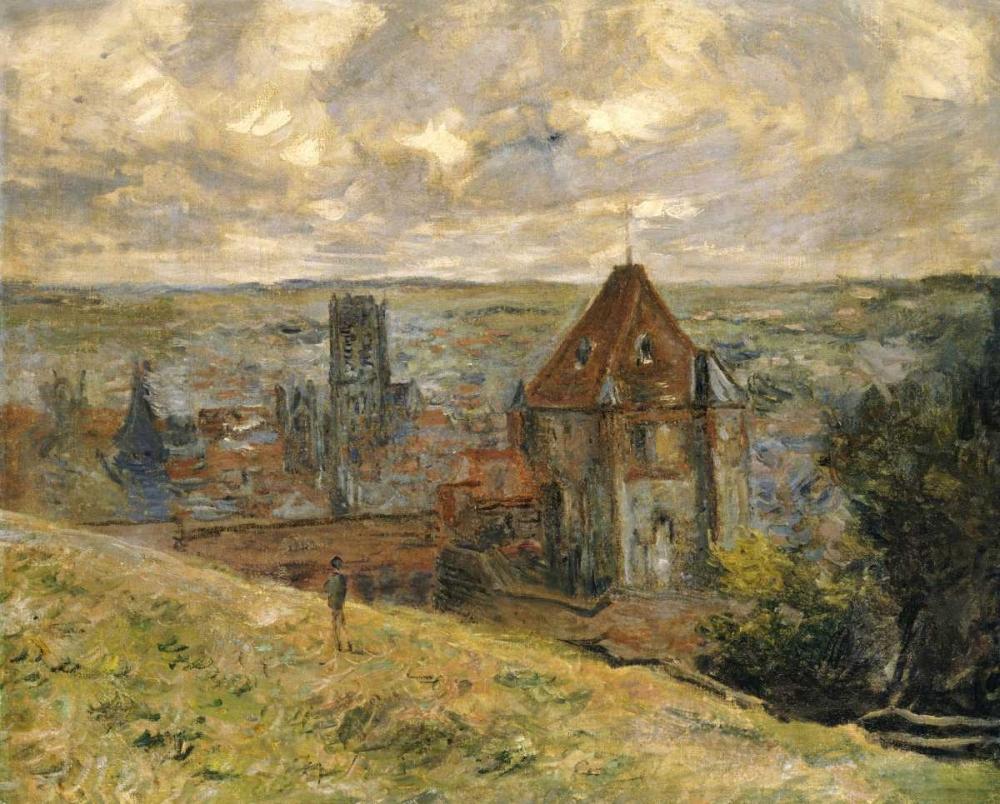 konfigurieren des Kunstdrucks in Wunschgröße Dieppe von Monet, Claude