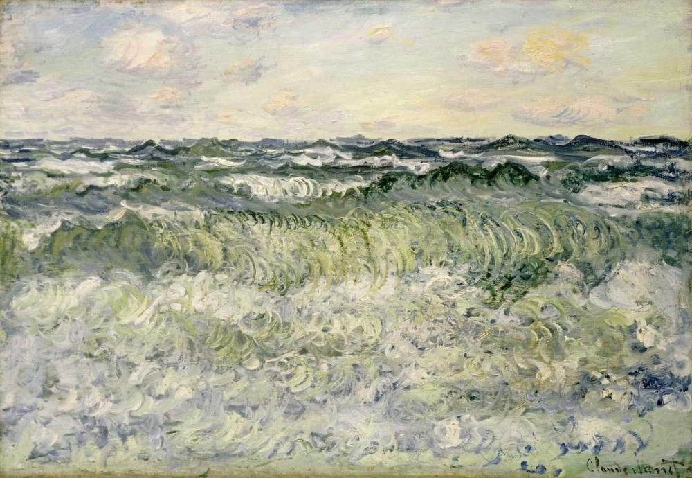 konfigurieren des Kunstdrucks in Wunschgröße Marine - Etude de mer von Monet, Claude