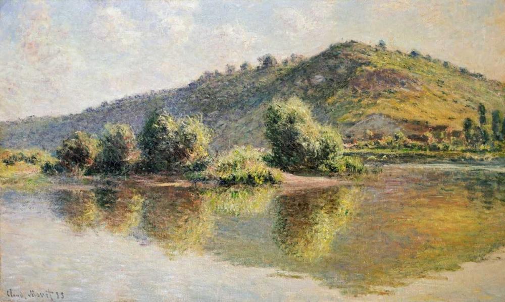 konfigurieren des Kunstdrucks in Wunschgröße The Seine at Port-Villez von Monet, Claude