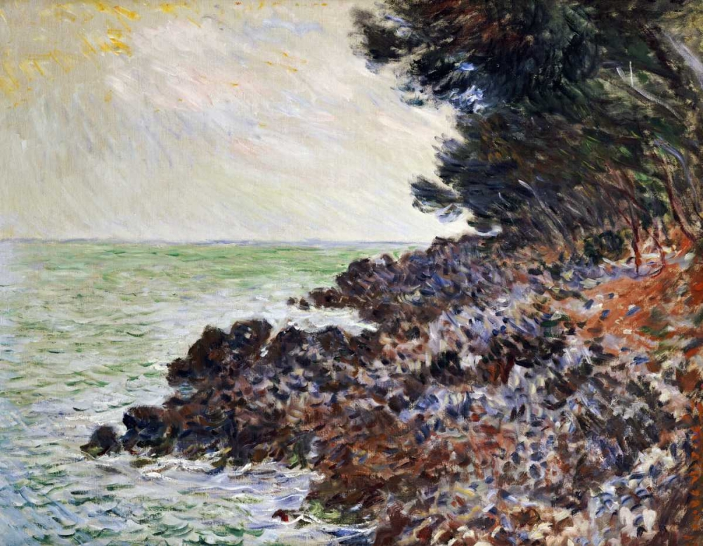 konfigurieren des Kunstdrucks in Wunschgröße Cap Martin von Monet, Claude