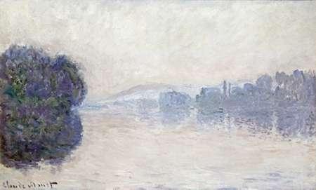 konfigurieren des Kunstdrucks in Wunschgröße The Seine Near Vernon, as Seen in the Morning von Monet, Claude