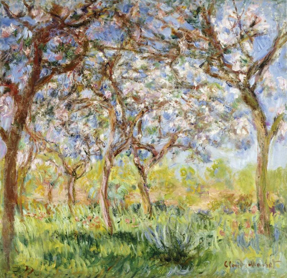 konfigurieren des Kunstdrucks in Wunschgröße Spring at Giverny von Monet, Claude