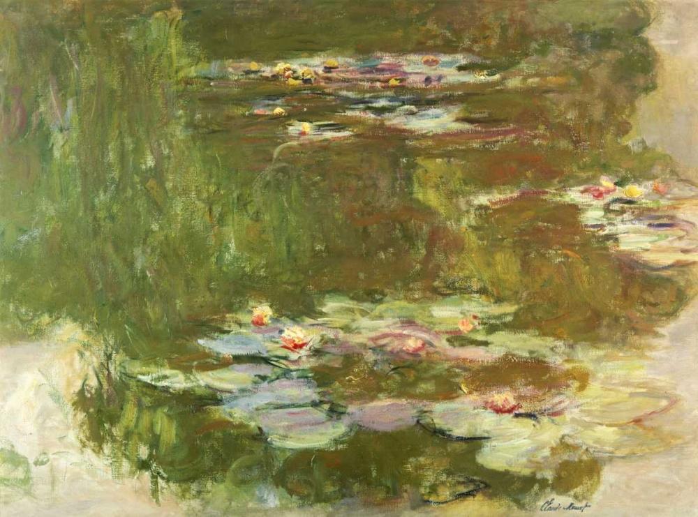 konfigurieren des Kunstdrucks in Wunschgröße Lily Pond von Monet, Claude