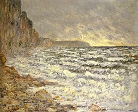 konfigurieren des Kunstdrucks in Wunschgröße Seafront, Fecamp von Monet, Claude