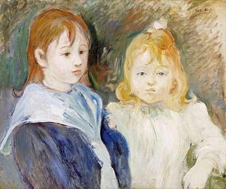 konfigurieren des Kunstdrucks in Wunschgröße Portrait DEnfants von Morisot, Berthe