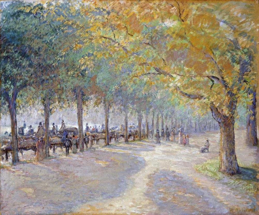 konfigurieren des Kunstdrucks in Wunschgröße Hyde Park, London von Pissarro, Camille