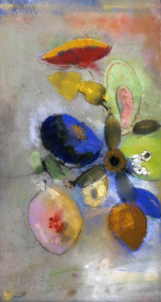 konfigurieren des Kunstdrucks in Wunschgröße Flowers von Redon, Odilion