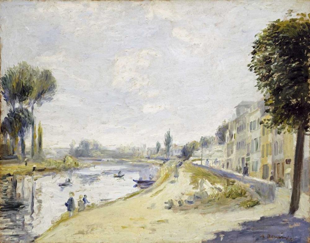 The Banks of the Seine von Renoir, Pierre-Auguste <br> max. 89 x 69cm <br> Preis: ab 10€