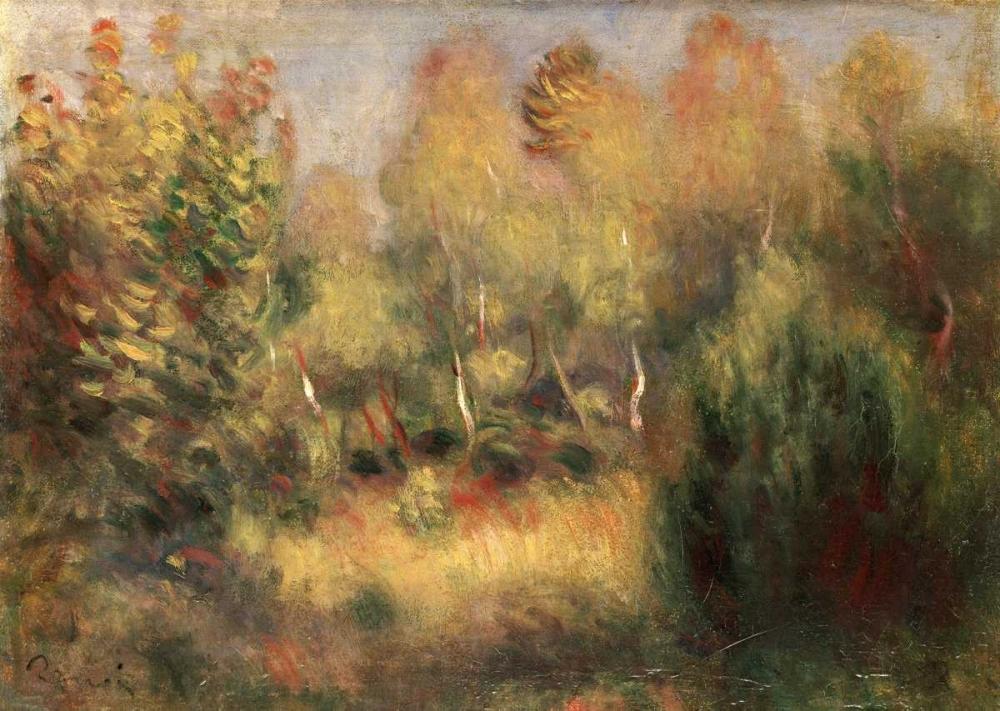 konfigurieren des Kunstdrucks in Wunschgröße The Glade von Renoir, Pierre-Auguste