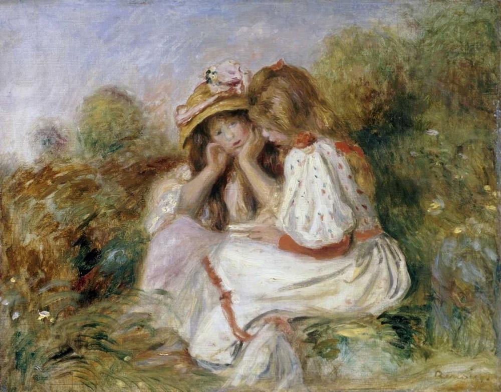 Deux Fillettes von Renoir, Pierre-Auguste <br> max. 89 x 69cm <br> Preis: ab 10€