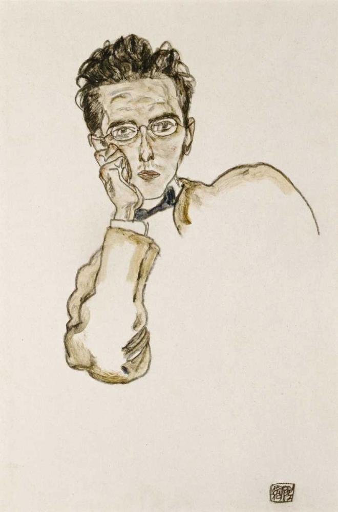 Portrait of The Art Dealer Paul Wengraf von Schiele, Egon <br> max. 61 x 91cm <br> Preis: ab 10€