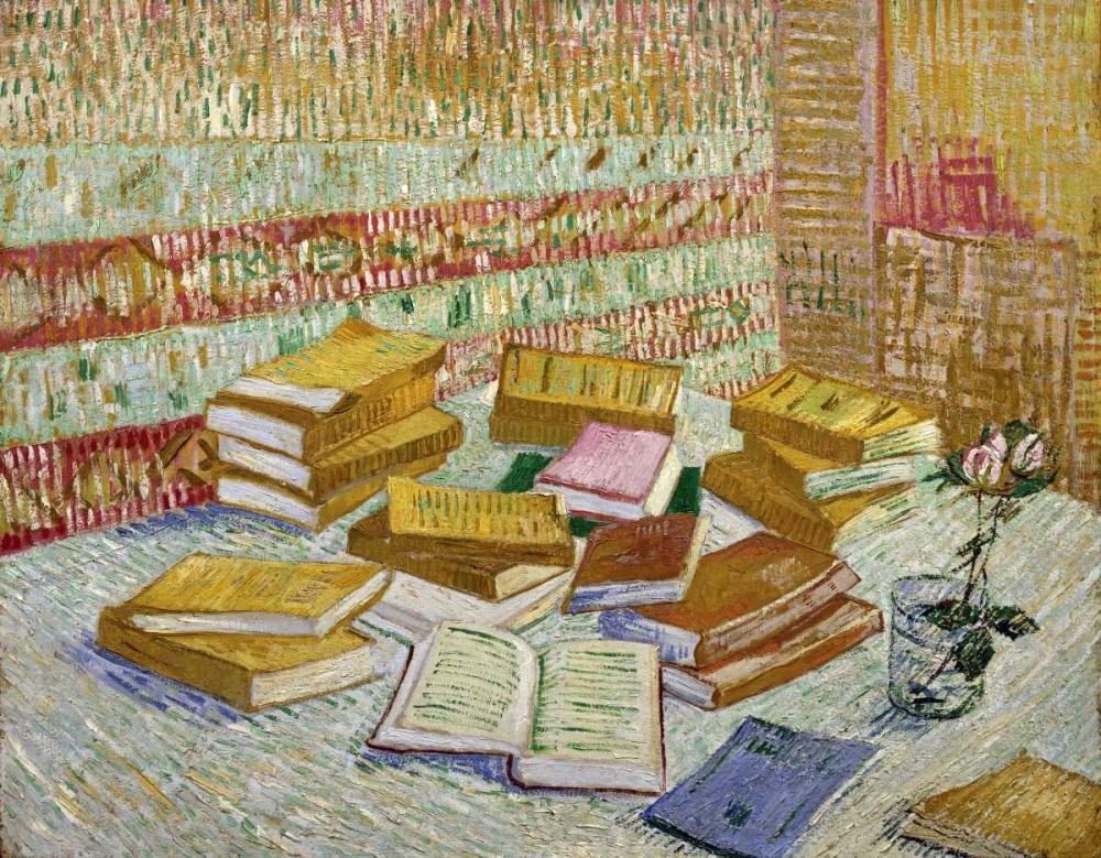 konfigurieren des Kunstdrucks in Wunschgröße The Parisian Novels von Van Gogh, Vincent
