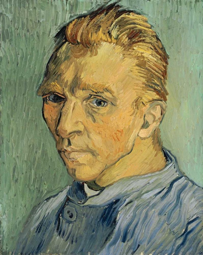 konfigurieren des Kunstdrucks in Wunschgröße Self Portrait Without Beard von Van Gogh, Vincent